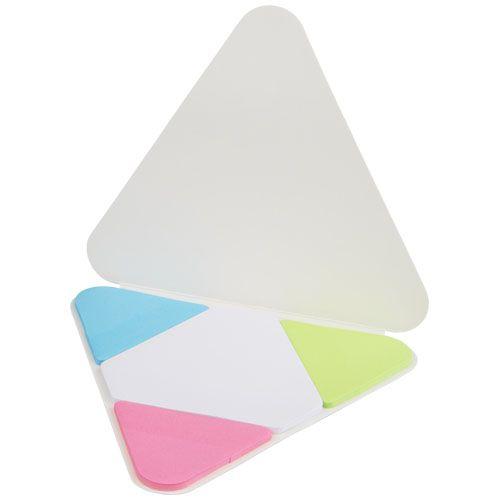 Bloc-notes mémo publicitaire Triangle - Sticky notes personnalisé