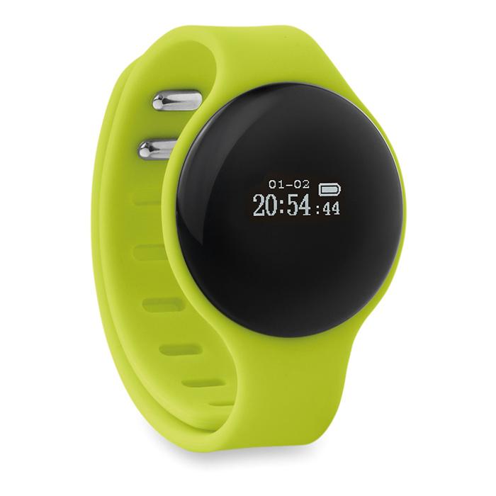 Bracelet de santé publicitaire Round Bracy - Cadeau d'entreprise high-tech