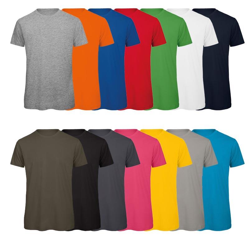 T-Shirt publicitaire coton bio 140 g/m² Inspire
