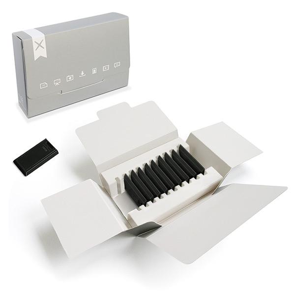 Clé USB publicitaire prête-à-coller