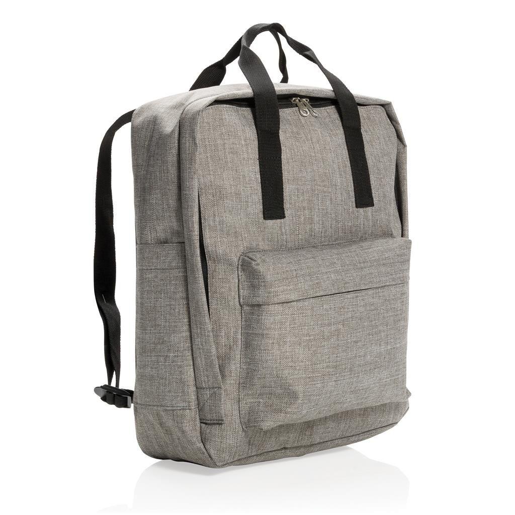 Cadeau publicitaire -  sac à dos personnalisé Ursule gris