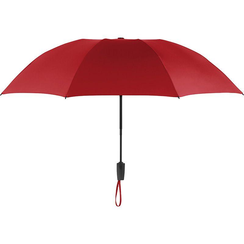 Parapluie personnalisé de poche Inverse - rouge