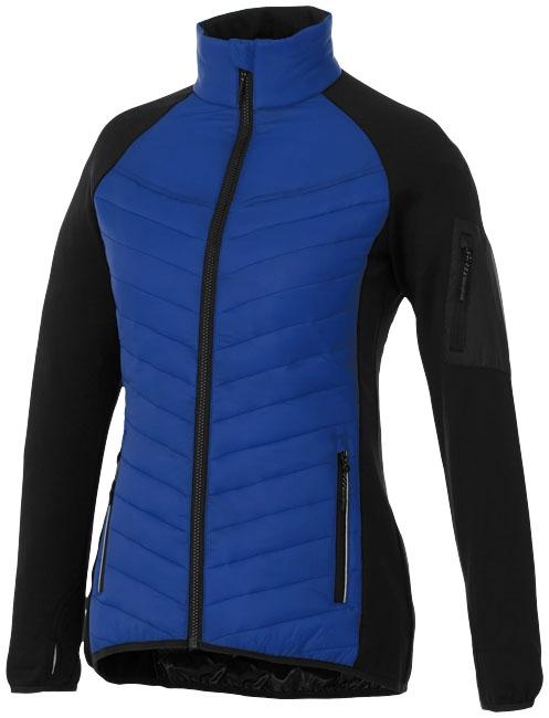 Textile publicitaire - Doudoune publicitaire Hybride Banff Femme - bleu