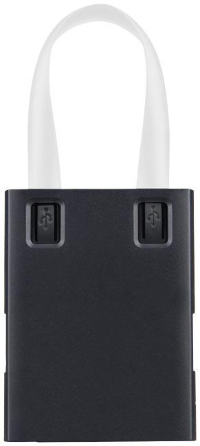 Hub publicitaire USB avec cables 3 en 1 Skilled - hub personnalisé