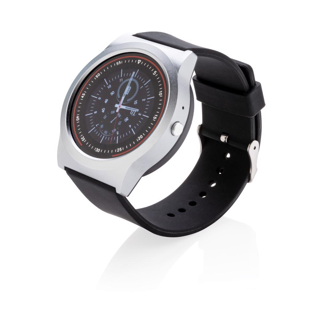 Montre publicitaire connectée Smart watch - Smart watch personnalisable Swiss peak