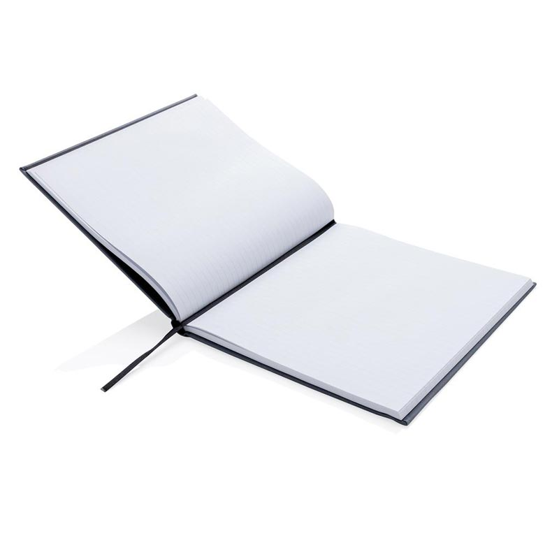 Carnet de notes publicitaire Deluxe 210 x 240 mm - Carnet personnalisable