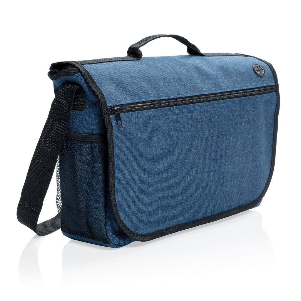 Sacoche personnalisée Tendance  gris- cadeau publicitaire bagagerie