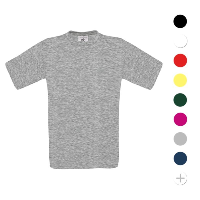 tee shirt publicitaire en coton Exact - textile enfant