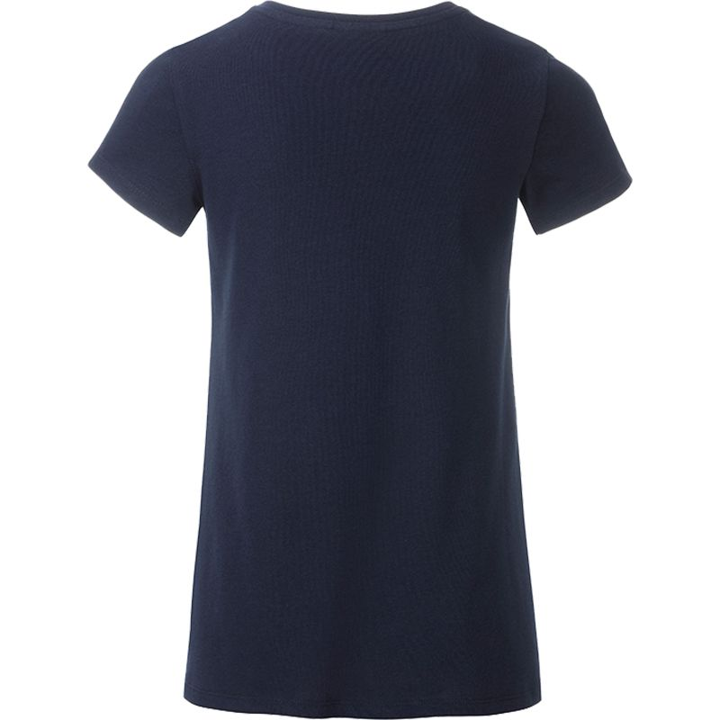 T-shirt personnalisé bio Enfant Kim - Tee-shirt publicitaire biologique - rose