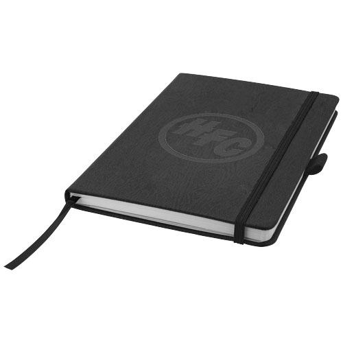 Carnet publicitaire A5 Journalbooks® Ebéniste marron - carnet promotionnel