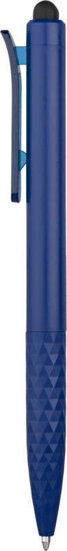 Stylo stylet personnalisable bleu