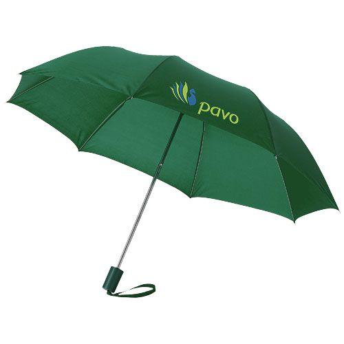 Parapluie publicitaire bleu ciel