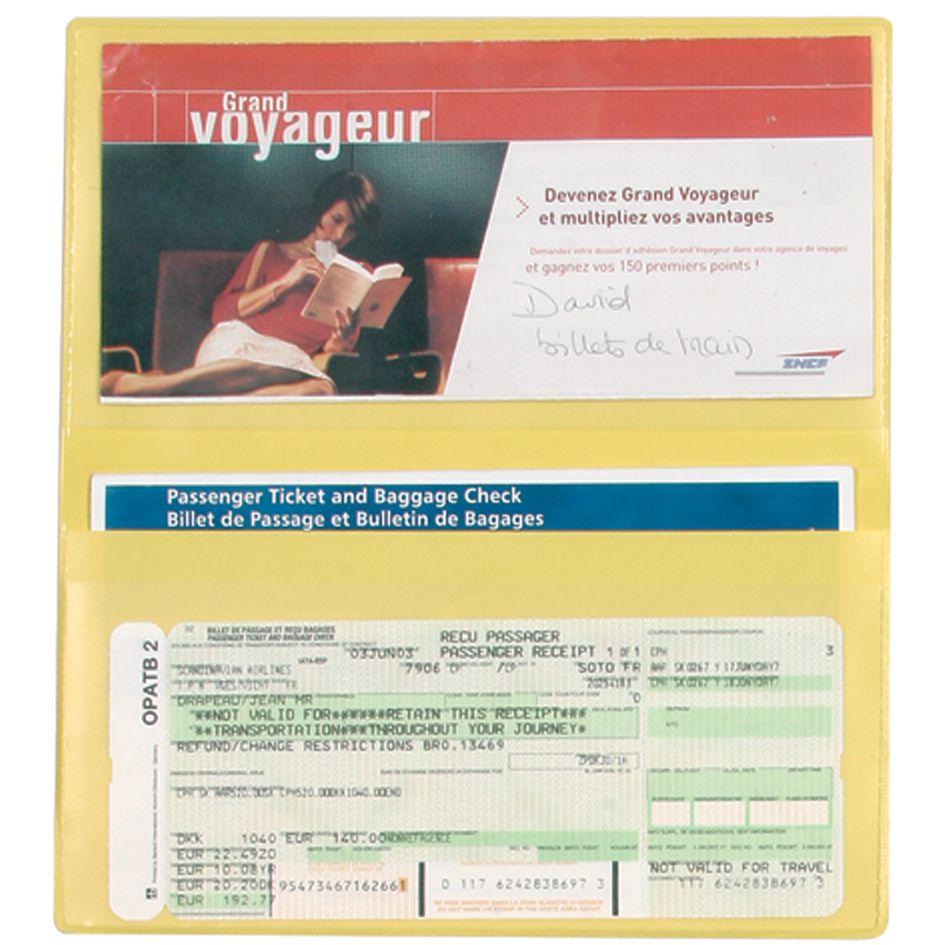 Objet publicitaire voyage - pochette de voyage Travel à personnaliser