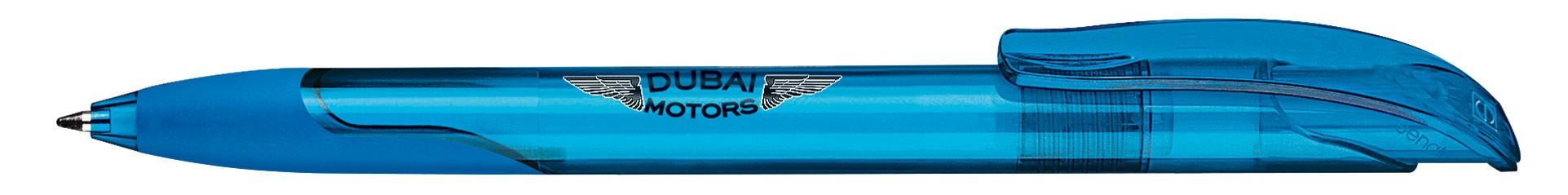 Stylo promotionnel écologique Challenger Transparent grip - stylo publicitaire