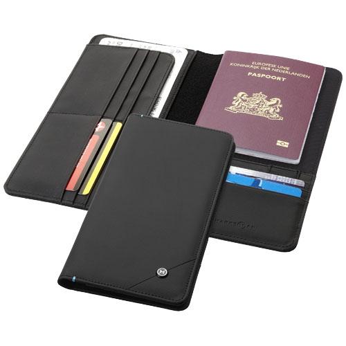 Portefeuille publicitaire RFID Odyssey - objet personnalisable