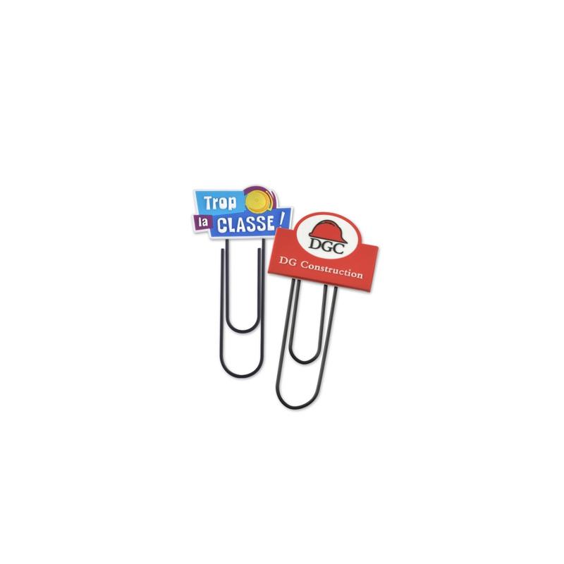 Marque-page publicitaire TIP - Goodies entreprise - Objet publicitaire
