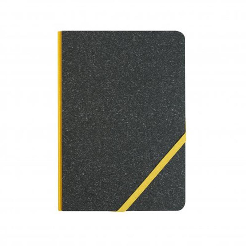 carnet publicitaire A5 kraftwork - coloris jaune