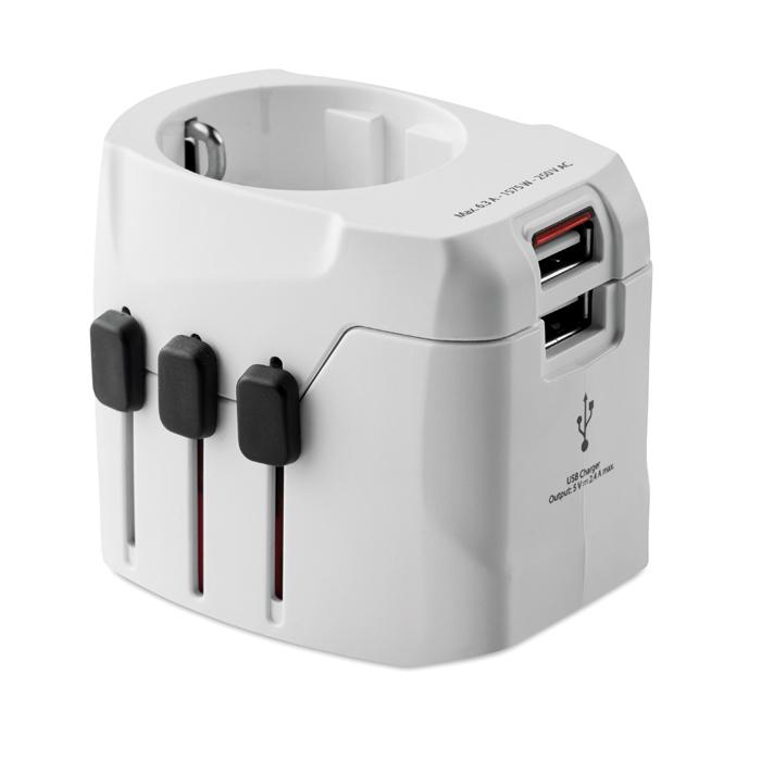 Cadeau promotionnel - Adaptateur personnalisé Pro Light USB 3-Pole