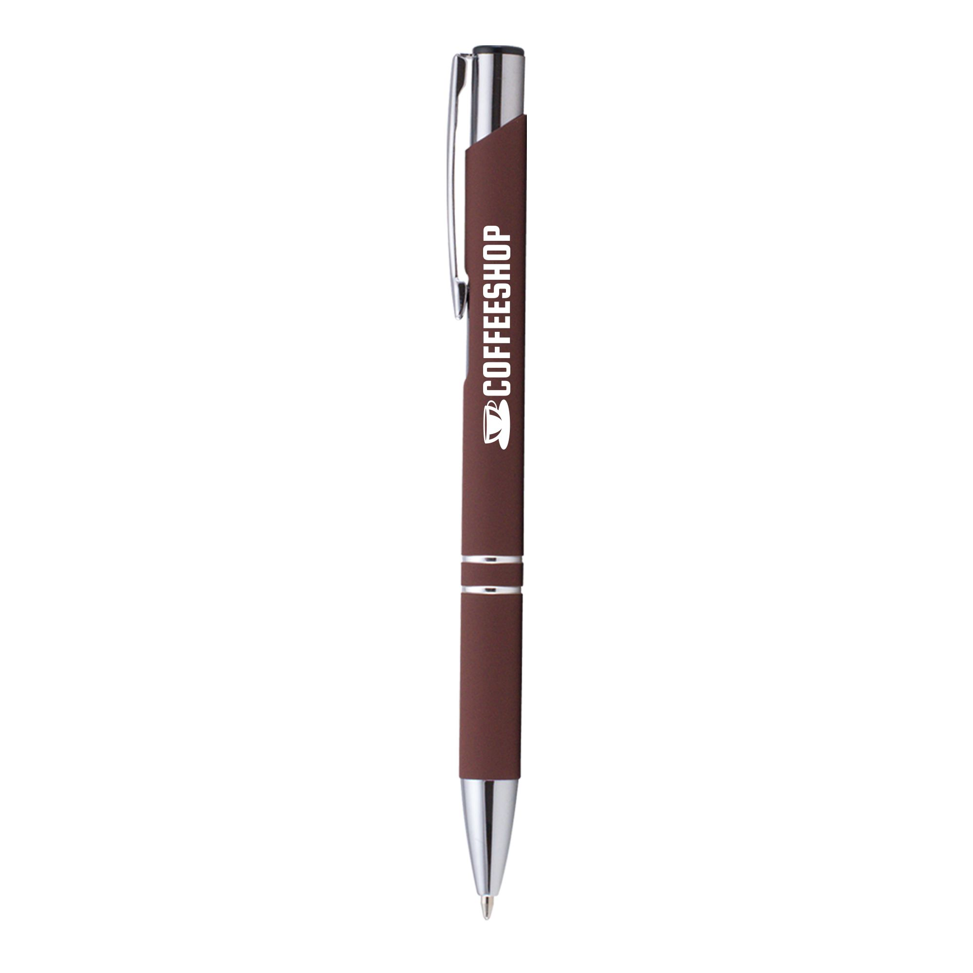 Goodies entreprise - Stylo bille publicitaire Crosby soft touch