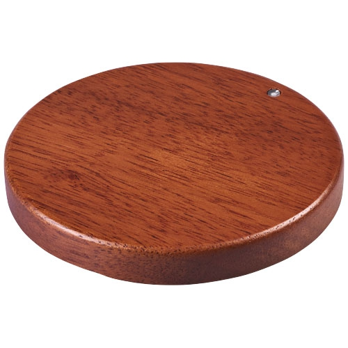 cadeau  d'entreprise écolo - chargeur induction en bois à personnaliser Bora