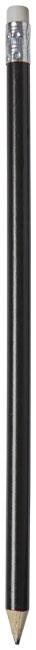 Crayon à papier personnalisé avec corps de couleur Alegra noir