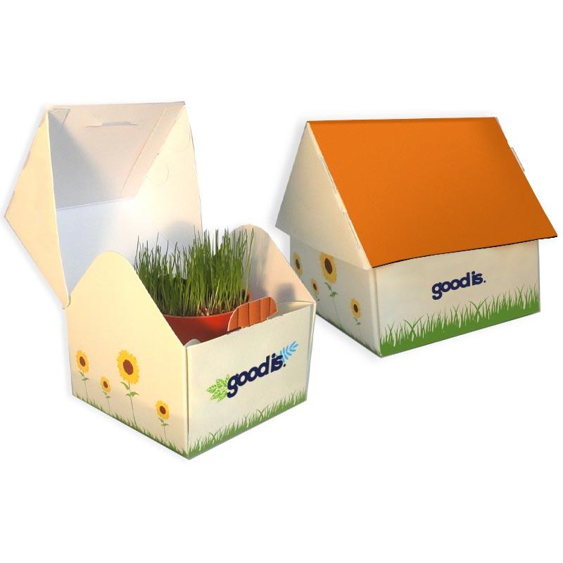 Cadeau publicitaire développement durable - Maisonnette Développement Durable