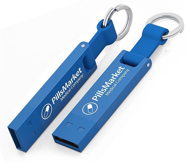 Clé USB publicitaire Iron Elegance C - Clé USB personnalisable - rose