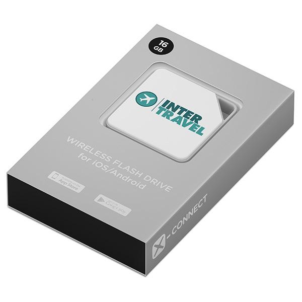 Mini disque dur promotionnel Air Disk - cadeau d'entreprise