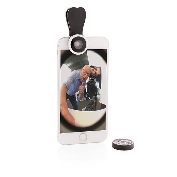 Cadeau publicitaire - Clip lentille fish-eye Globe