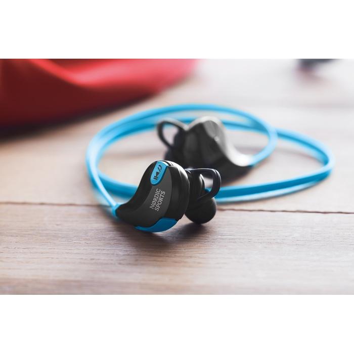 Cadeau publicitaire - Écouteurs personnalisés Bluetooth Rockstep