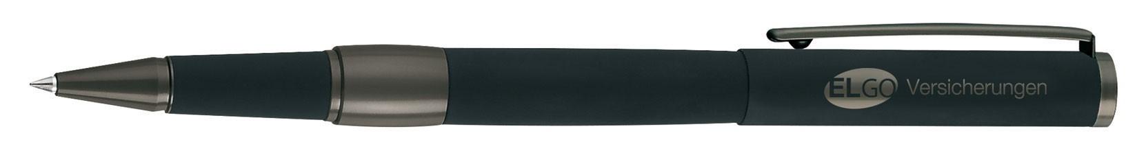 Stylo roller publicitaire Image Black - cadeau d'entreprise