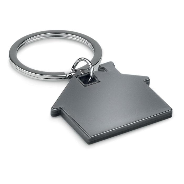 Porte-clés publicitaire en forme de maison Imba - Goodies entreprise