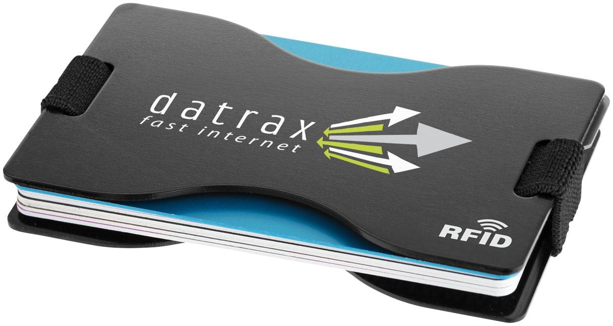 Porte-cartes publicitaire RFID Adventurer - objet promotionnel