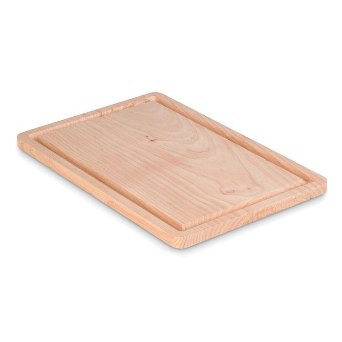 Grande planche à découper publicitaire en bois Ellwood - Cadeau d'entreprise cuisine