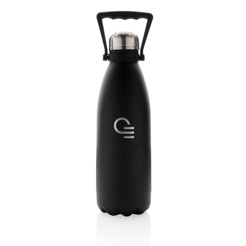 bouteille isotherme publicitaire Handia noir 1,5 L