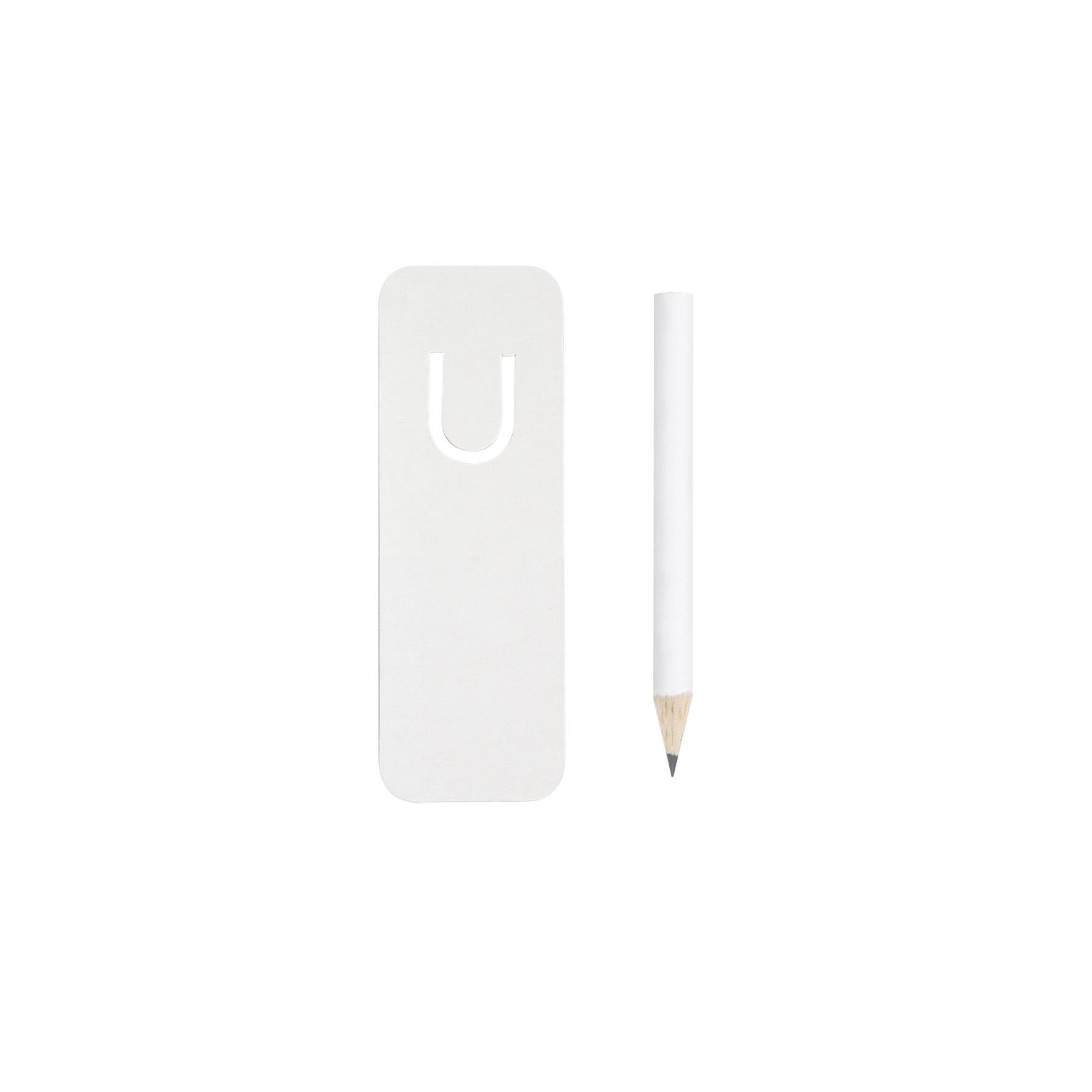 crayon publicitaire - kit crayon pantone et marque-page publicitaire Eco 10