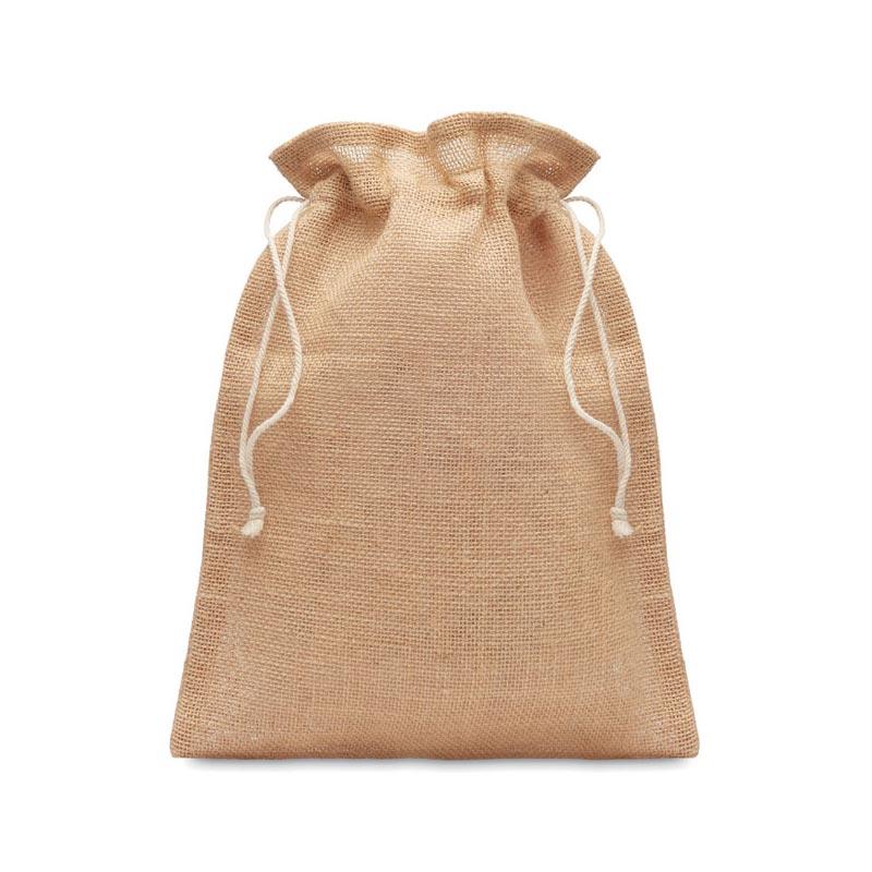 sac publicitaire en toile de jute - cadeau client