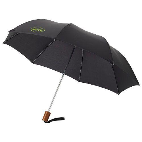 Parapluie à personnaliser marron