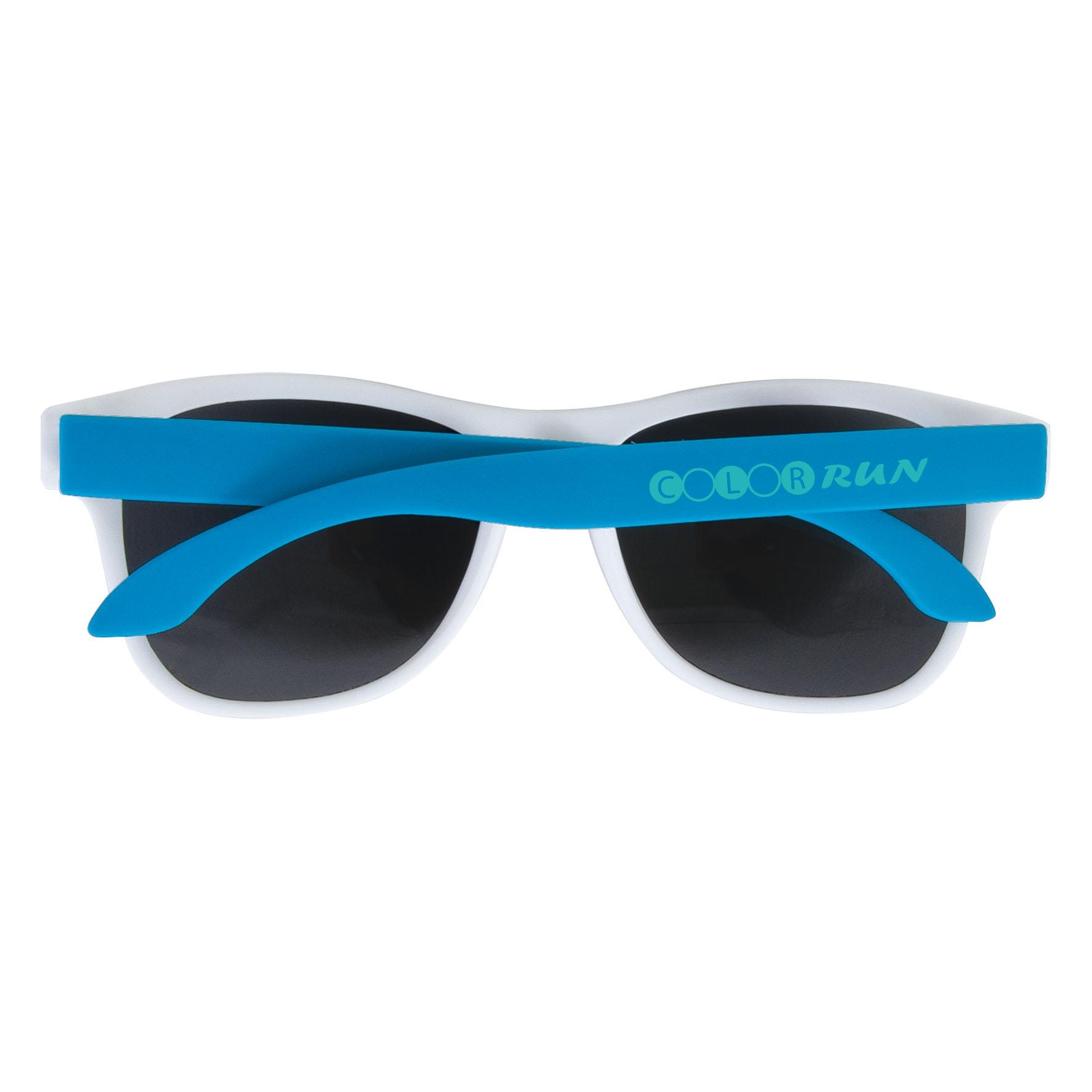 Objet publicitaire été - Lunettes de soleil adulte 3 couleurs - bleu