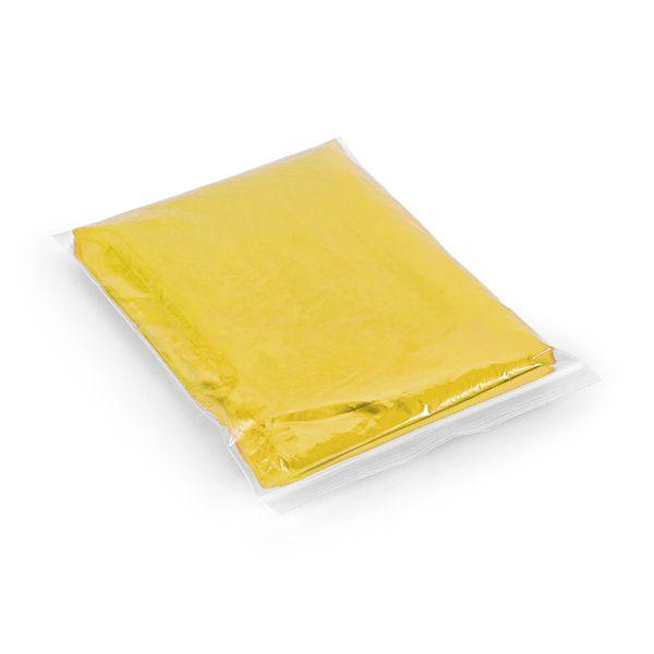 Poncho publicitaire imperméable Deluge jaune