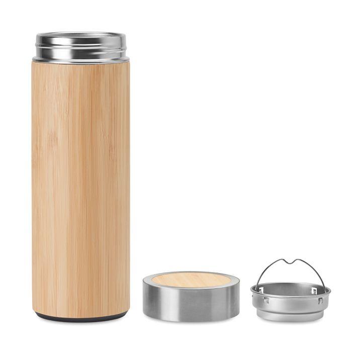 Bouteille personnalisée Bambou pour thé Batumi - cadeau d'entreprise