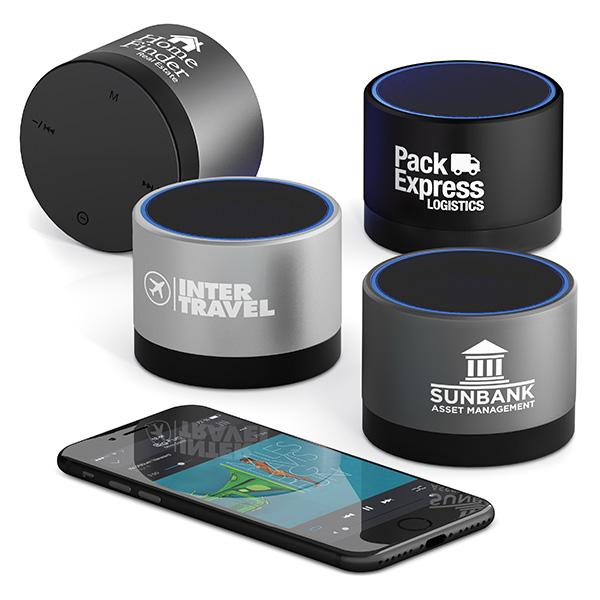 Enceinte Bluetooth® personnalisée Moonlight - haut-parleur personnalisable