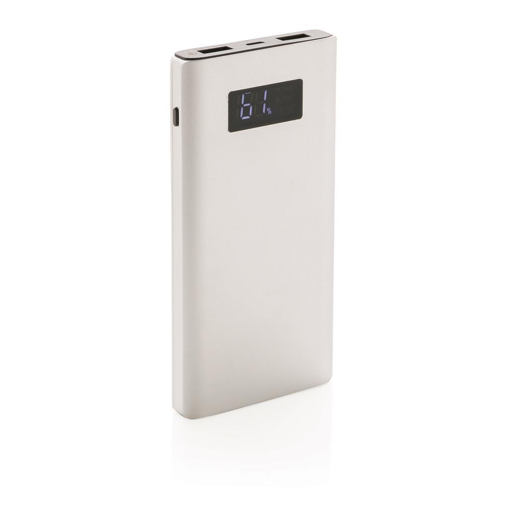 Batterie de secours publicitaire Quick charge - cadeau d'entreprise