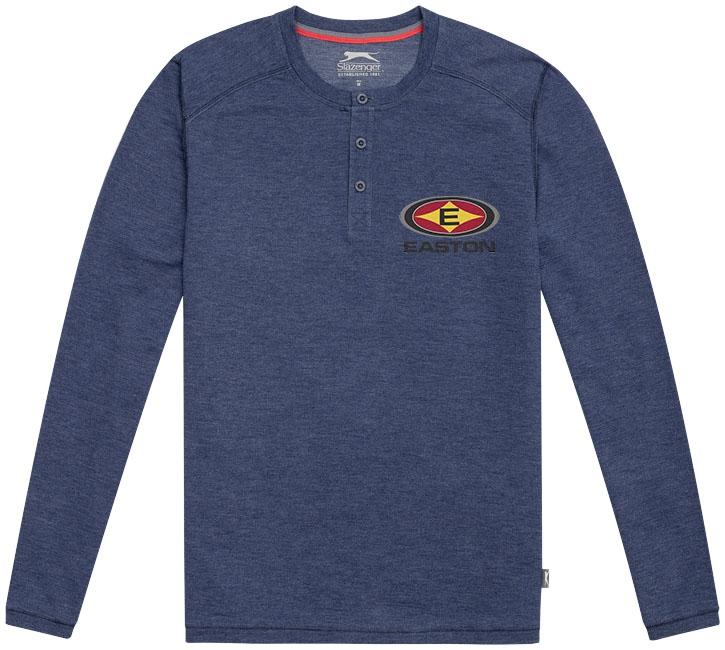 Sweat shirt publicitaire homme Slazenger™ Touch bleu bruyère