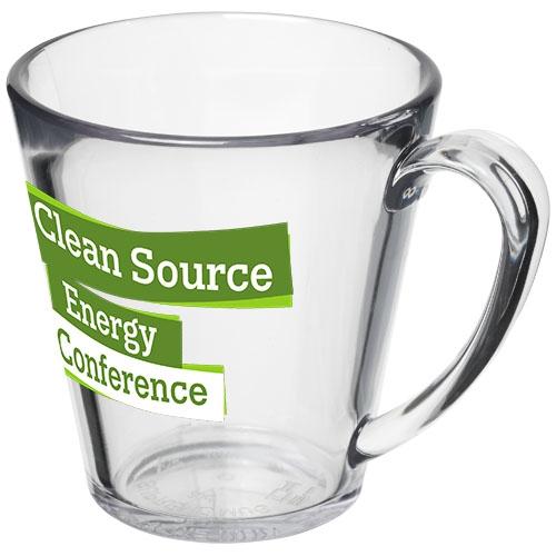 Mug personnalisé Supreme 350 ml - Mug publicitaire transparent