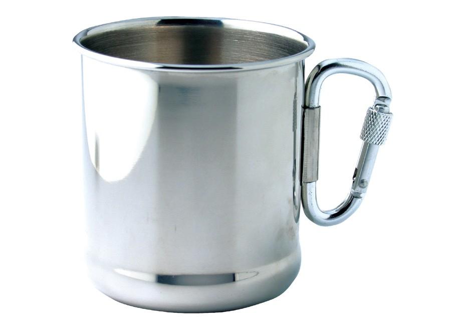 Mug promotionnel Army - mug publicitaire avec mousqueton