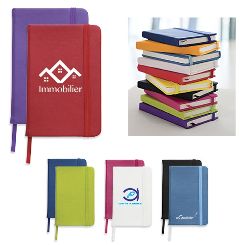 Carnet publicitaire A6 Focus Colour - carnet personnalisable