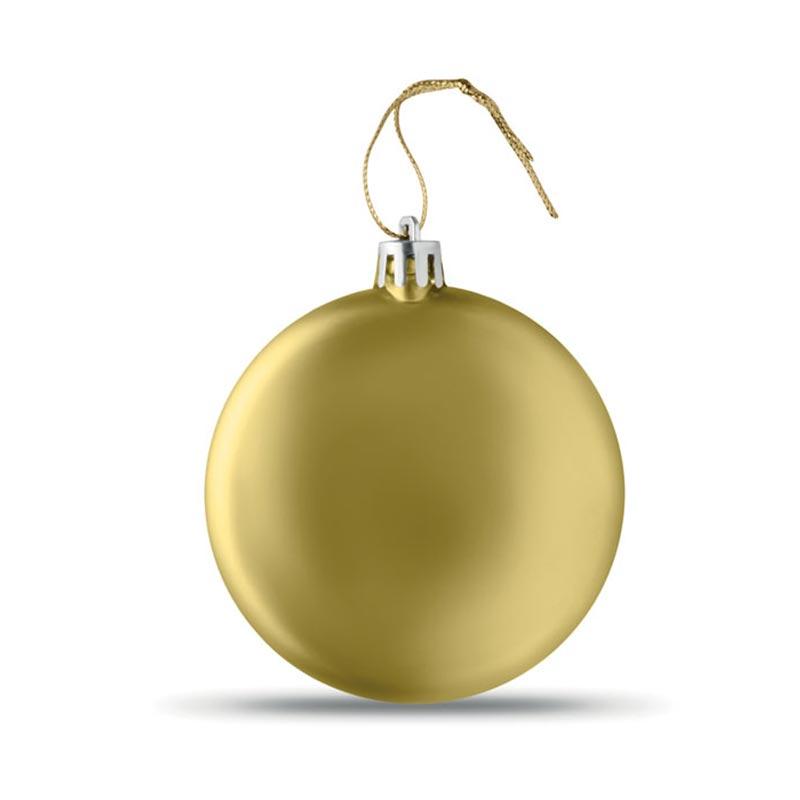 Boule de Noël plate Lia Ball