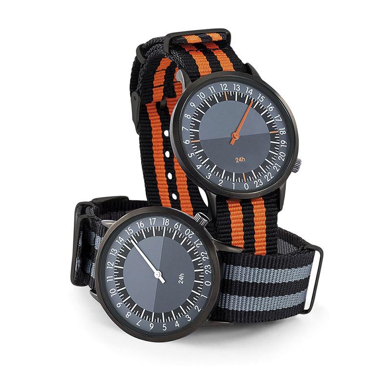 Montres publicitaires horloger 24h - cadeau d'entreprise
