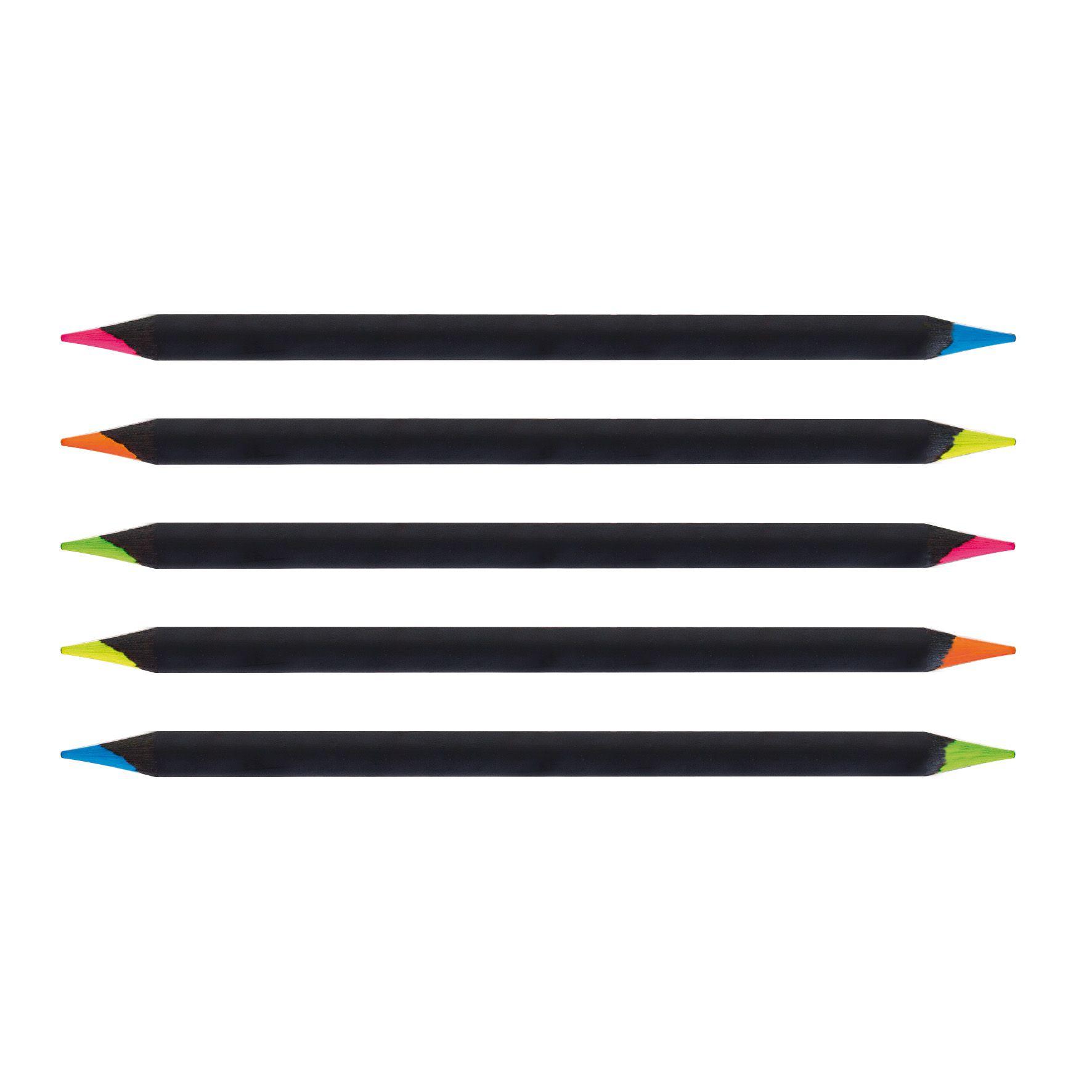 crayon surligneur personnalisé Bicoul Black fluo - crayon publicitaire